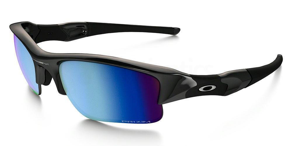 900911 OO9009 FLAK JACKET XLJ PRIZM DEEP WATER POLARIZED , Oakley