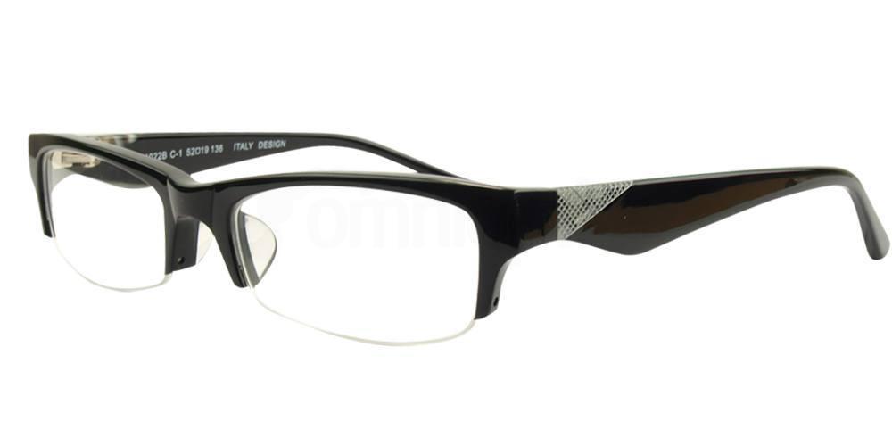 Black HM1022B Glasses, SelectSpecs