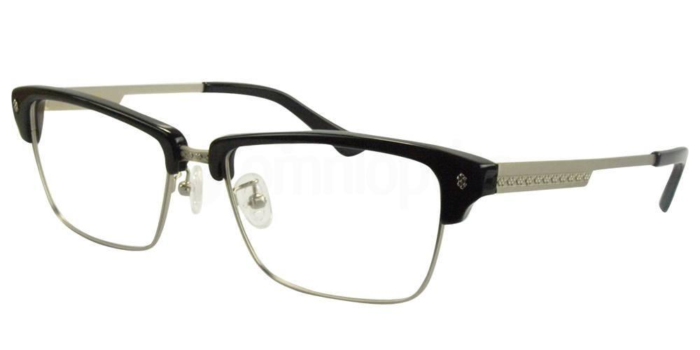 C1 Black / Silver K1422 Glasses, Hallmark