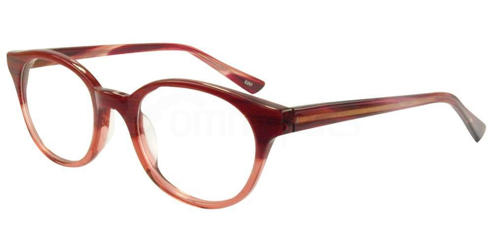 C257 BL6289 Glasses, Hallmark