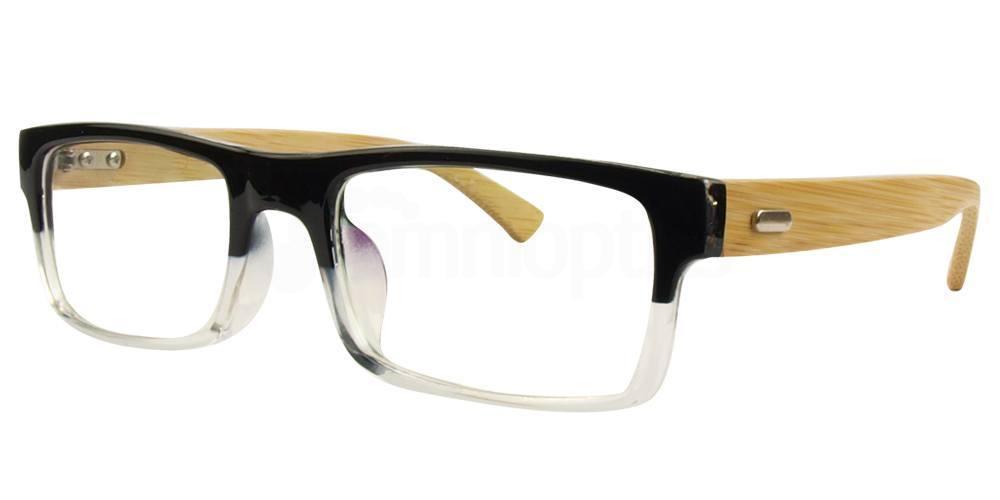 Black / Clear A6865 Glasses, SelectSpecs