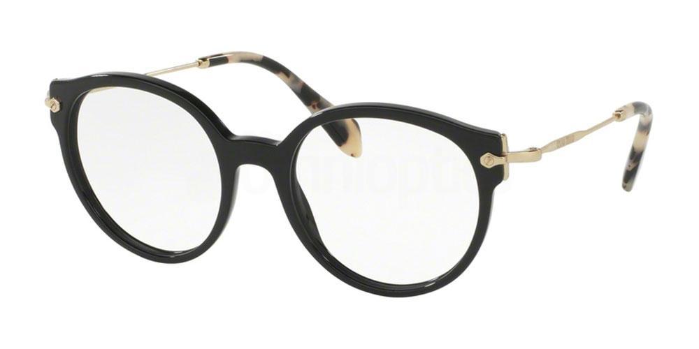 1AB1O1 MU 04PV Glasses, Miu Miu