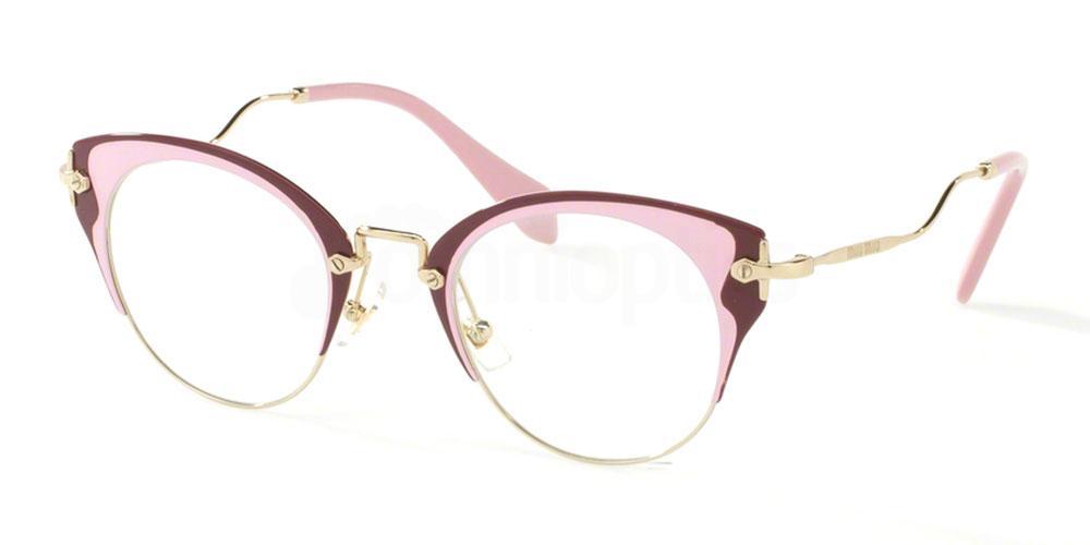 U651O1 MU 52PV Glasses, Miu Miu