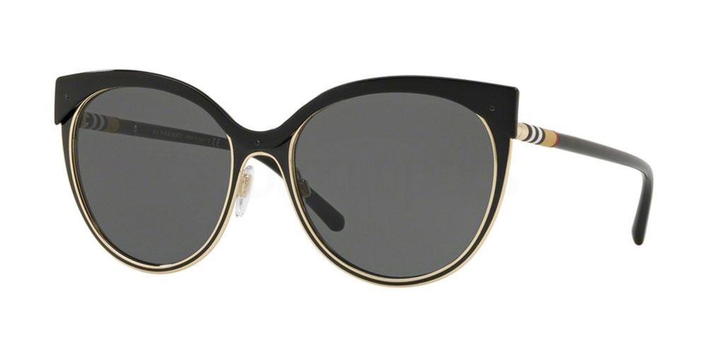 126287 BE3096 Sunglasses, Burberry