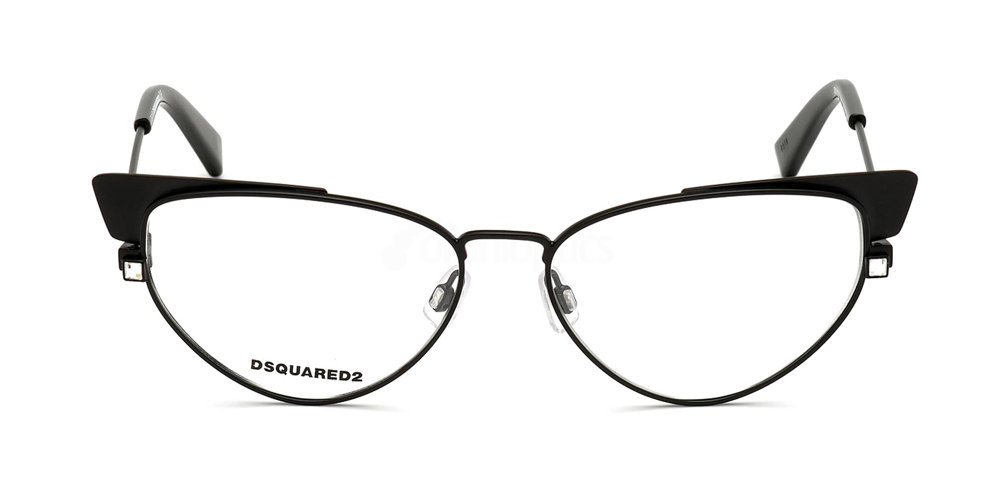 002 DQ5304 Glasses, DSQUARED2