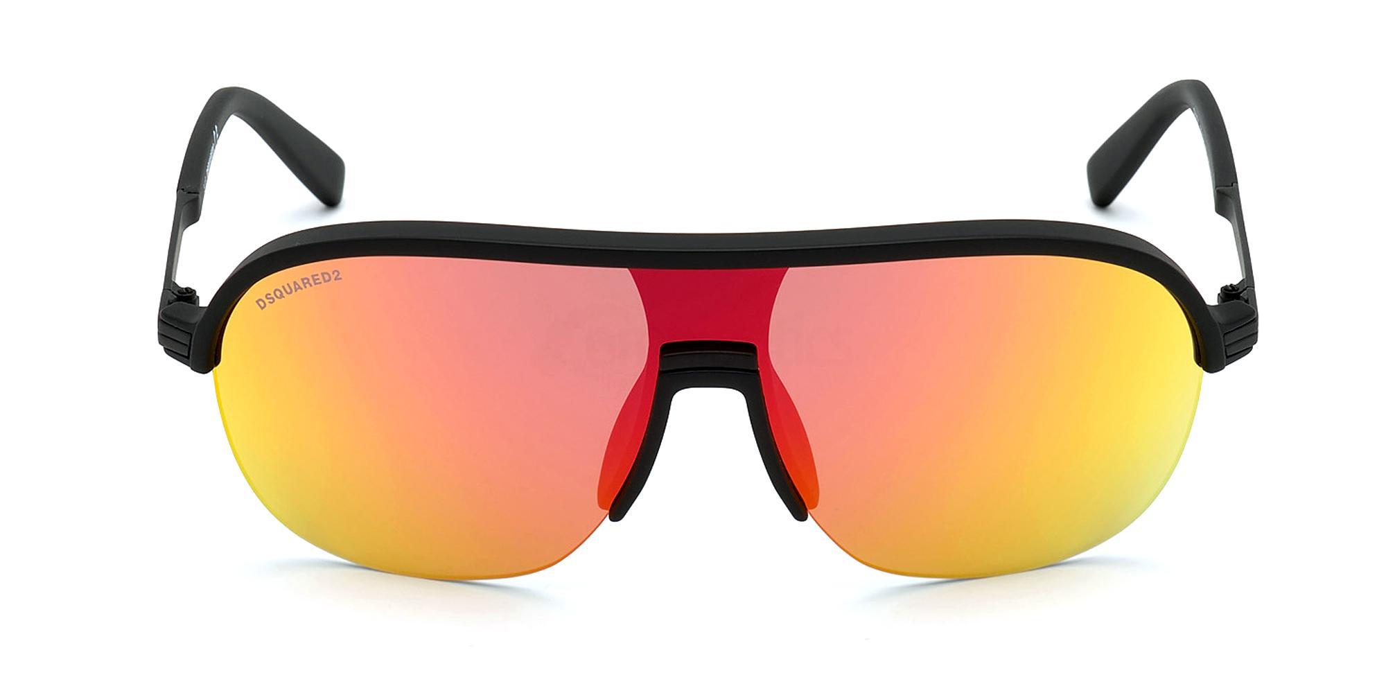 02U DQ0344 SHADY Sunglasses, DSQUARED2