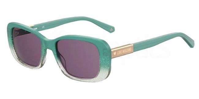 1ED (UR) MOL027/S Sunglasses, Love Moschino