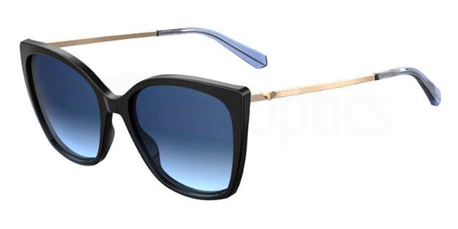 807 (08) MOL018/S Sunglasses, Love Moschino