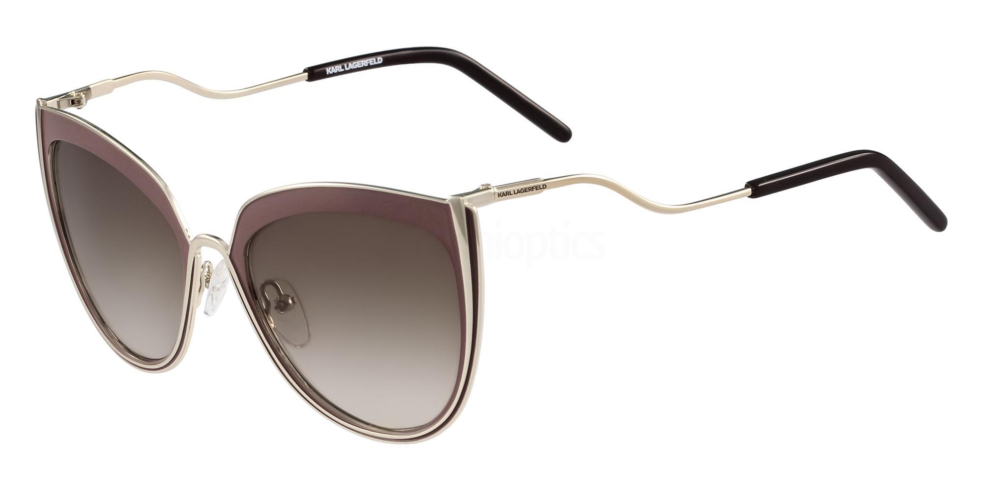 508 KL245S Sunglasses, Karl Lagerfeld