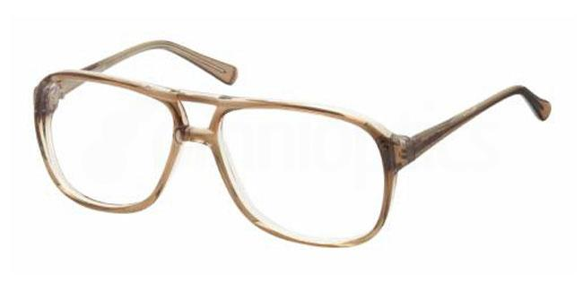 Brown 20TH BASE Glasses, Look Designs