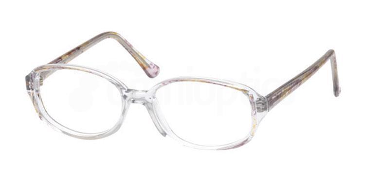 Purple 2ND BASE Glasses, Look Designs