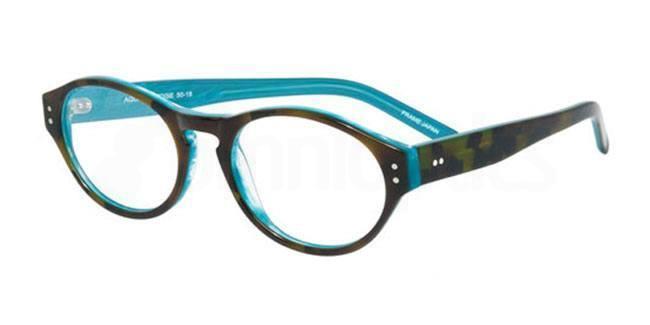 Aqua Tortoise po70 Glasses, Booth & Bruce Design