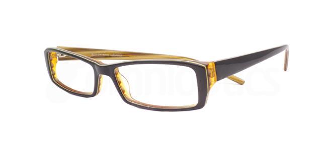 Black and Havana po08 Glasses, Booth & Bruce Design