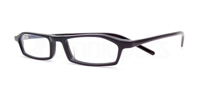 Black 814 Glasses, Booth & Bruce Design