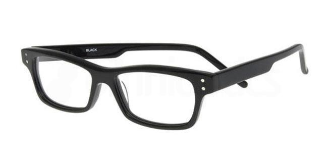 Black 875 Glasses, Booth & Bruce Classic
