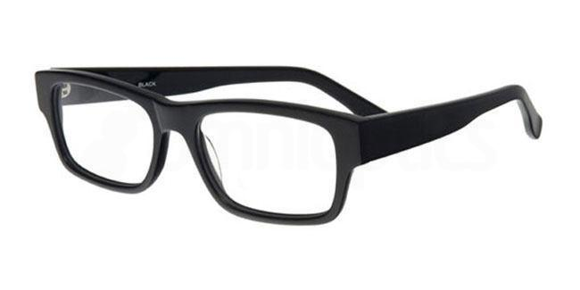 Black 885 Glasses, Booth & Bruce Classic