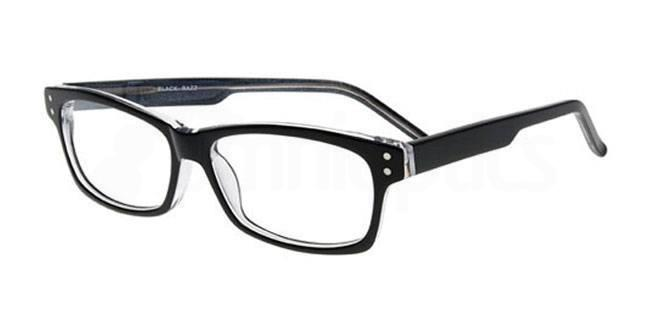Black Razz 893 Glasses, Booth & Bruce Classic