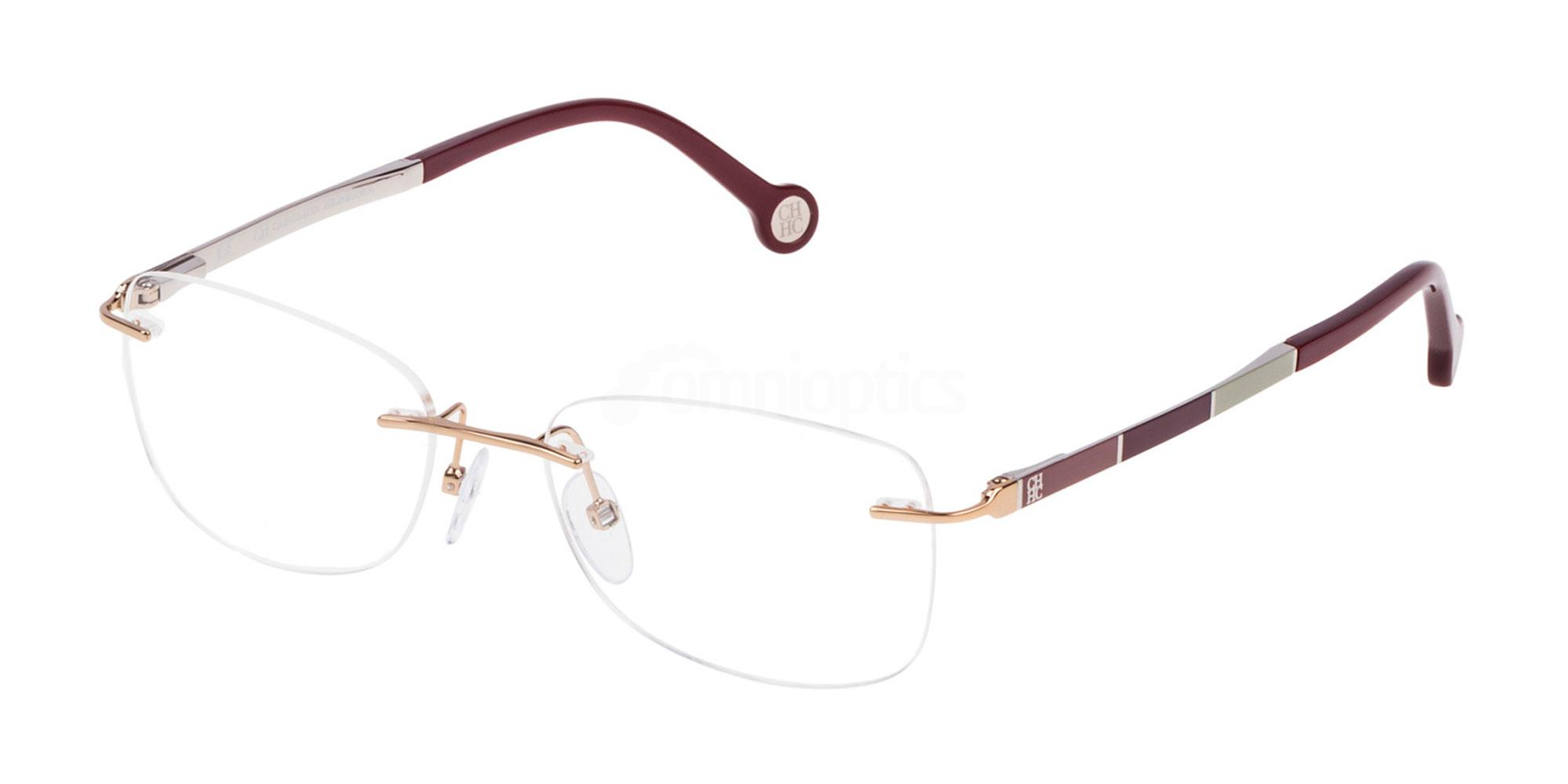 0300 VHE078 Glasses, CH Carolina Herrera