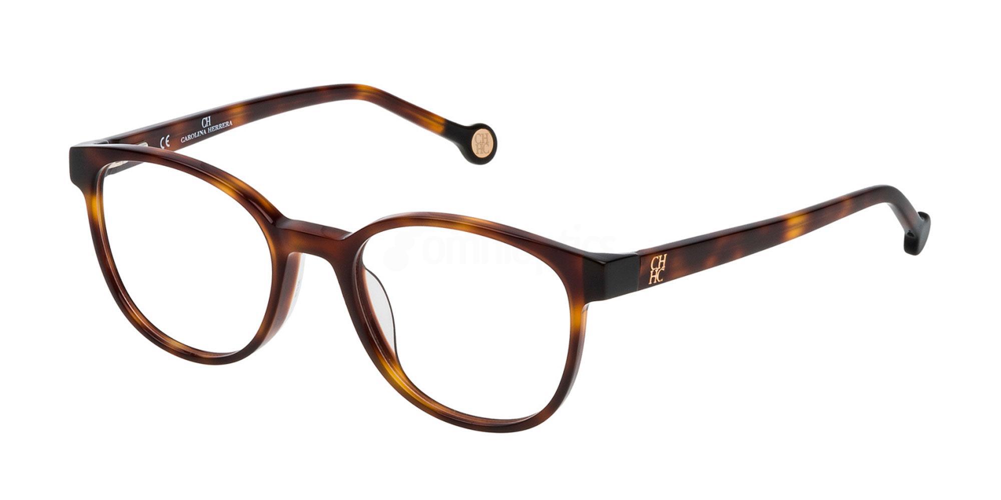 0752 VHE680 Glasses, CH Carolina Herrera