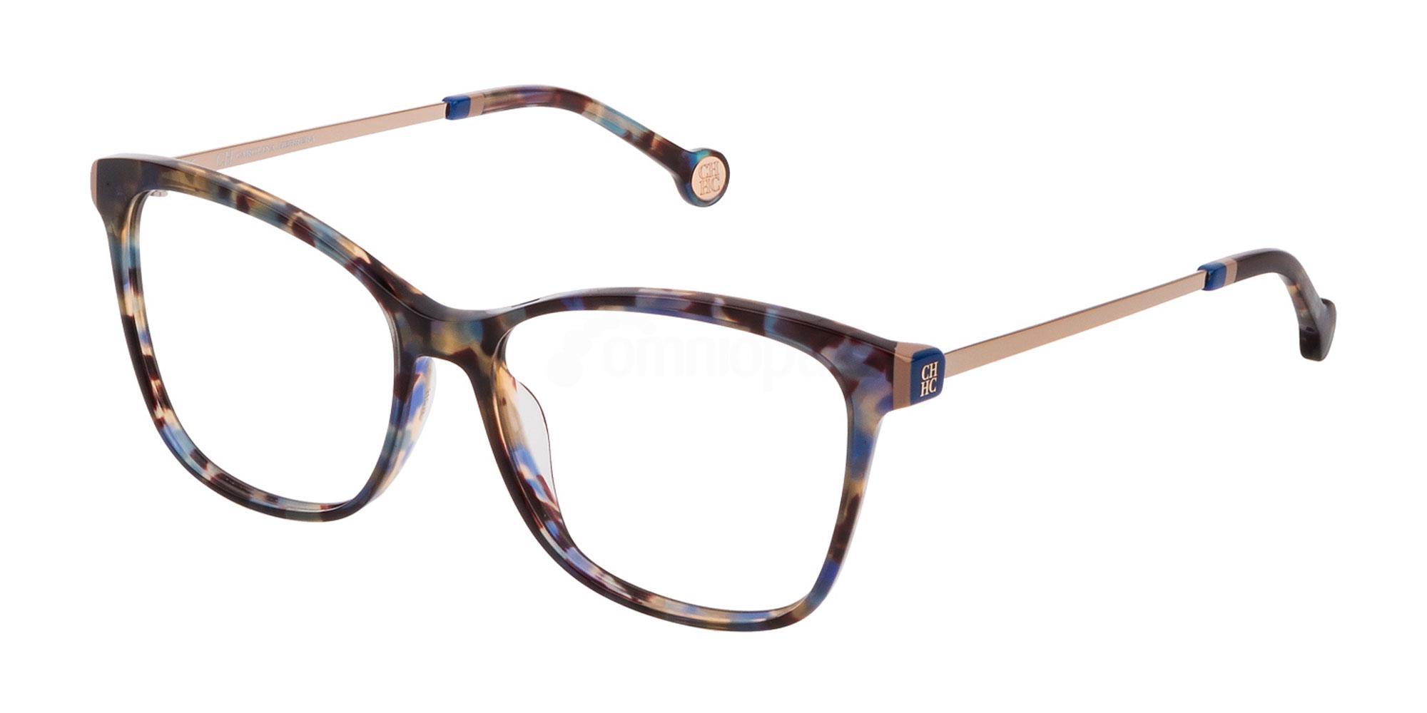 06DQ VHE818 Glasses, CH Carolina Herrera
