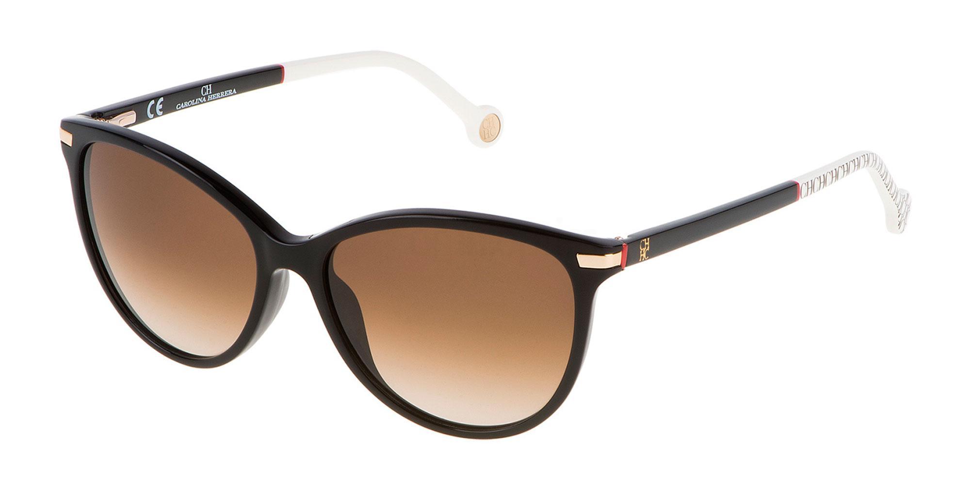 700L SHE651 Sunglasses, CH Carolina Herrera