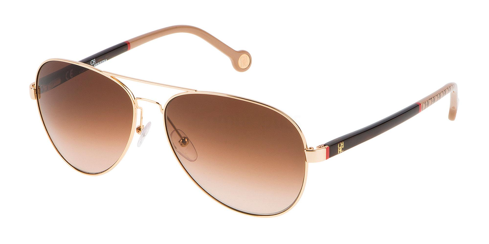 0300 SHE070 Sunglasses, CH Carolina Herrera