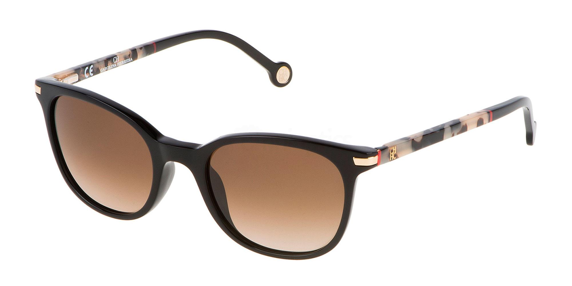 0700 SHE650V Sunglasses, CH Carolina Herrera