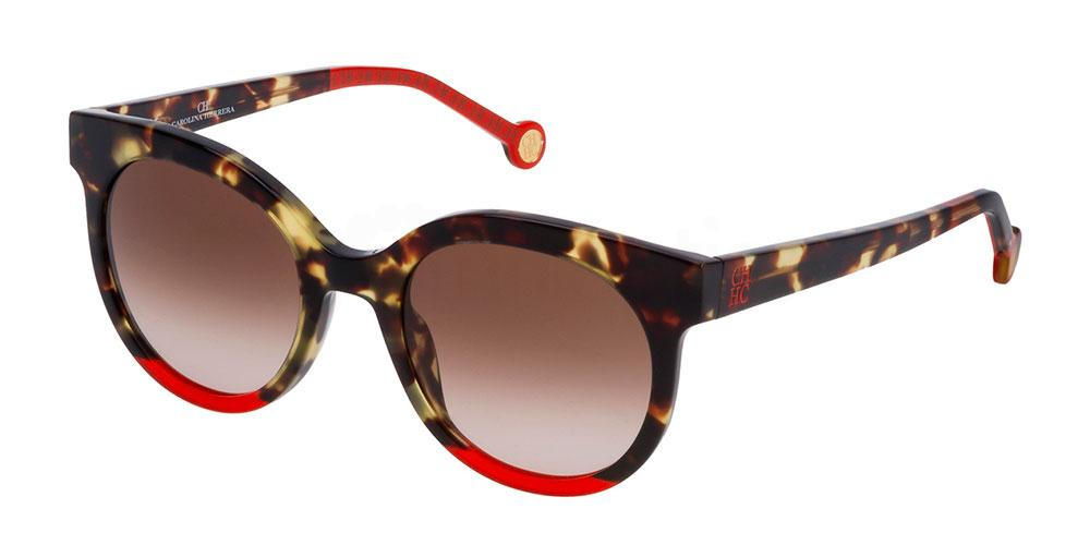 5AWX SHE745 Sunglasses, CH Carolina Herrera