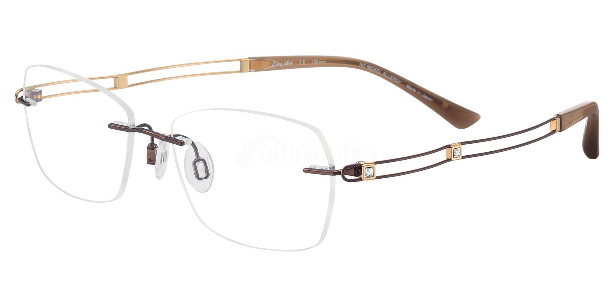 BR XL2050 Glasses, Lineart Charmant