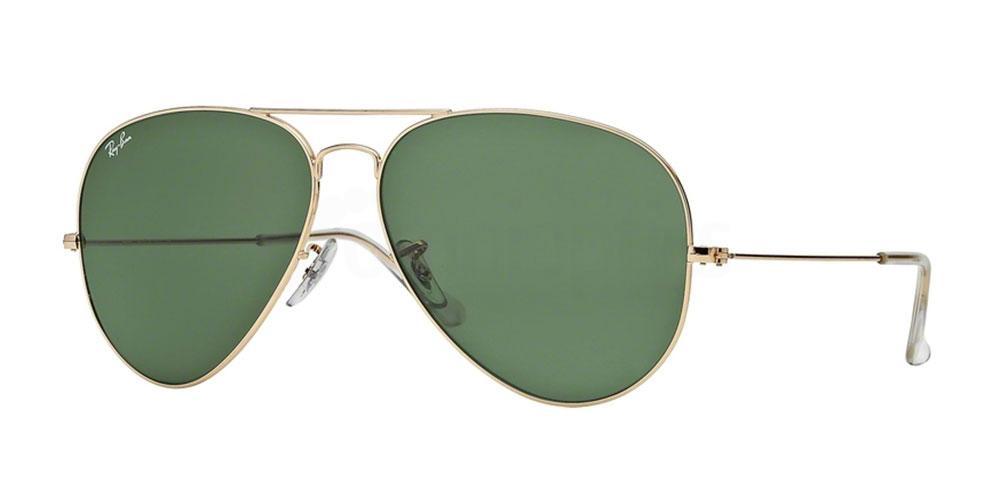 L2846 RB3026 Aviator - Large Metal II Sunglasses, Ray-Ban