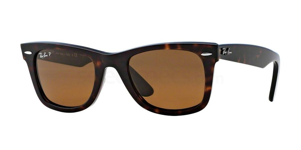 902/57 RB2140 Original Wayfarer (Polarized) Sunglasses, Ray-Ban