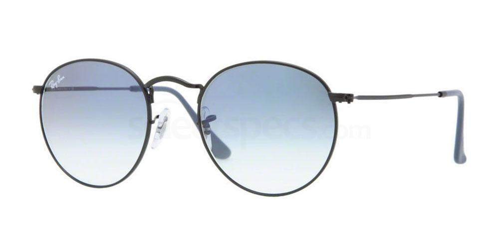 006/3F RB3447 Round Metal (1/2) Sunglasses, Ray-Ban