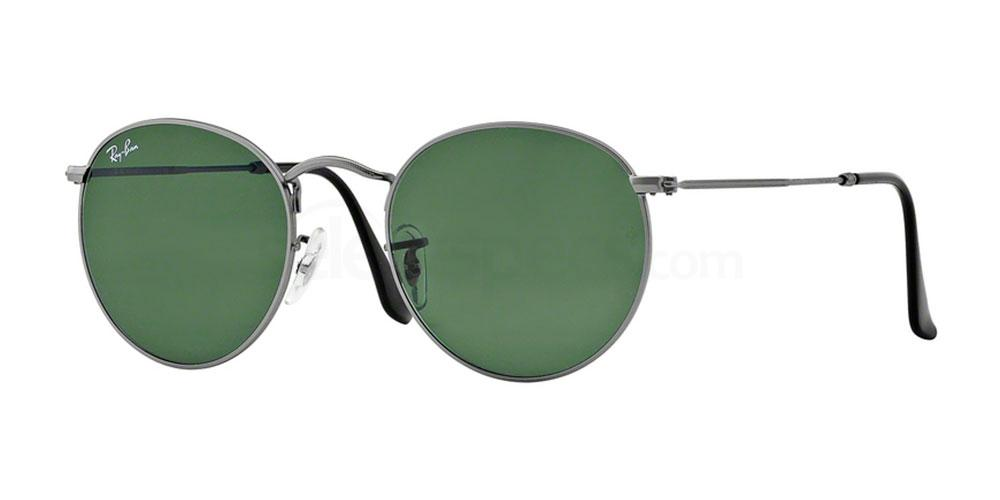 029 RB3447 Round Metal (1/2) Sunglasses, Ray-Ban