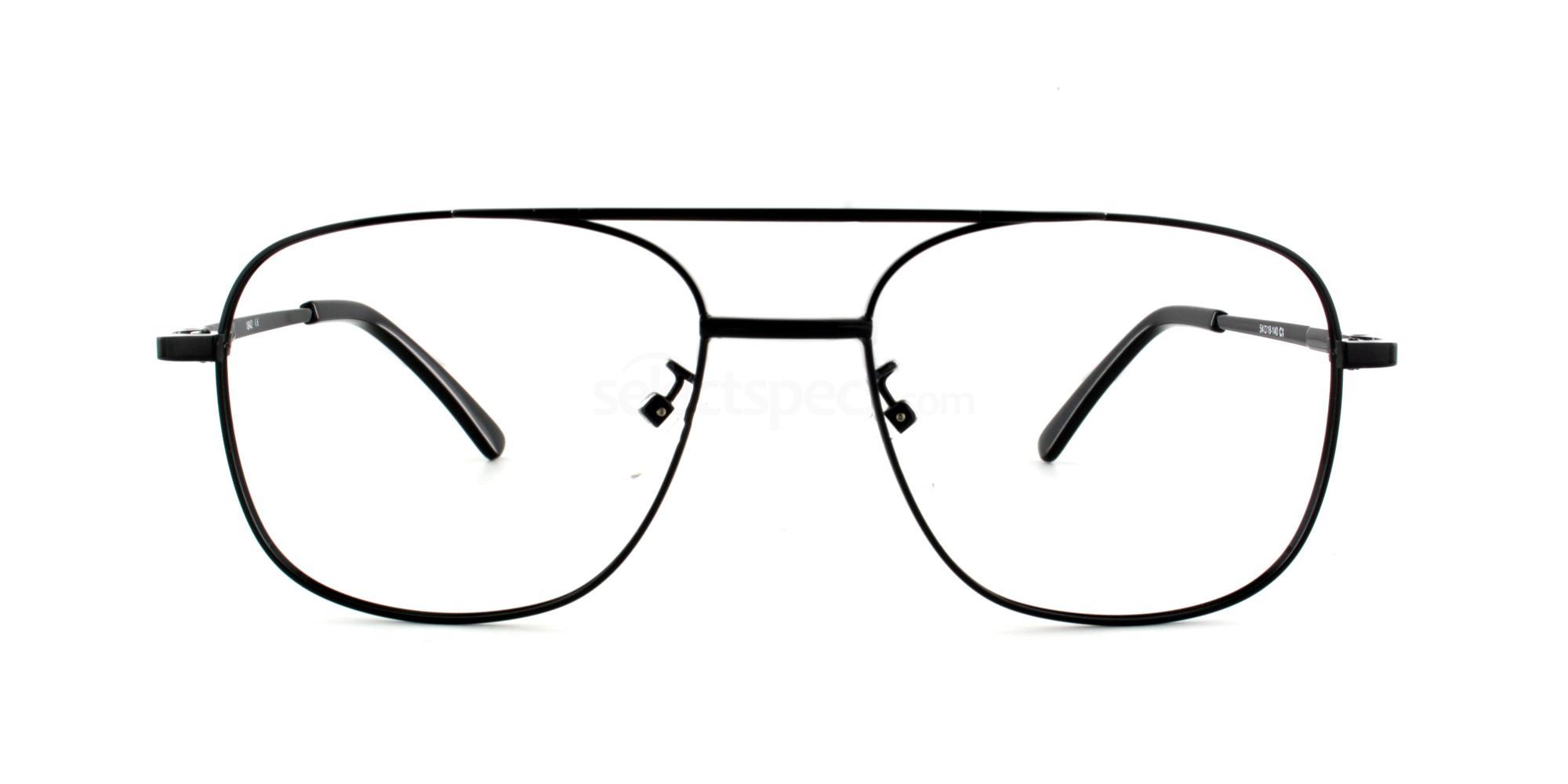 Black F8006 Glasses, Hush