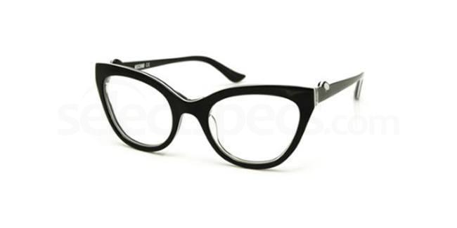 01 MO138 Glasses, Moschino