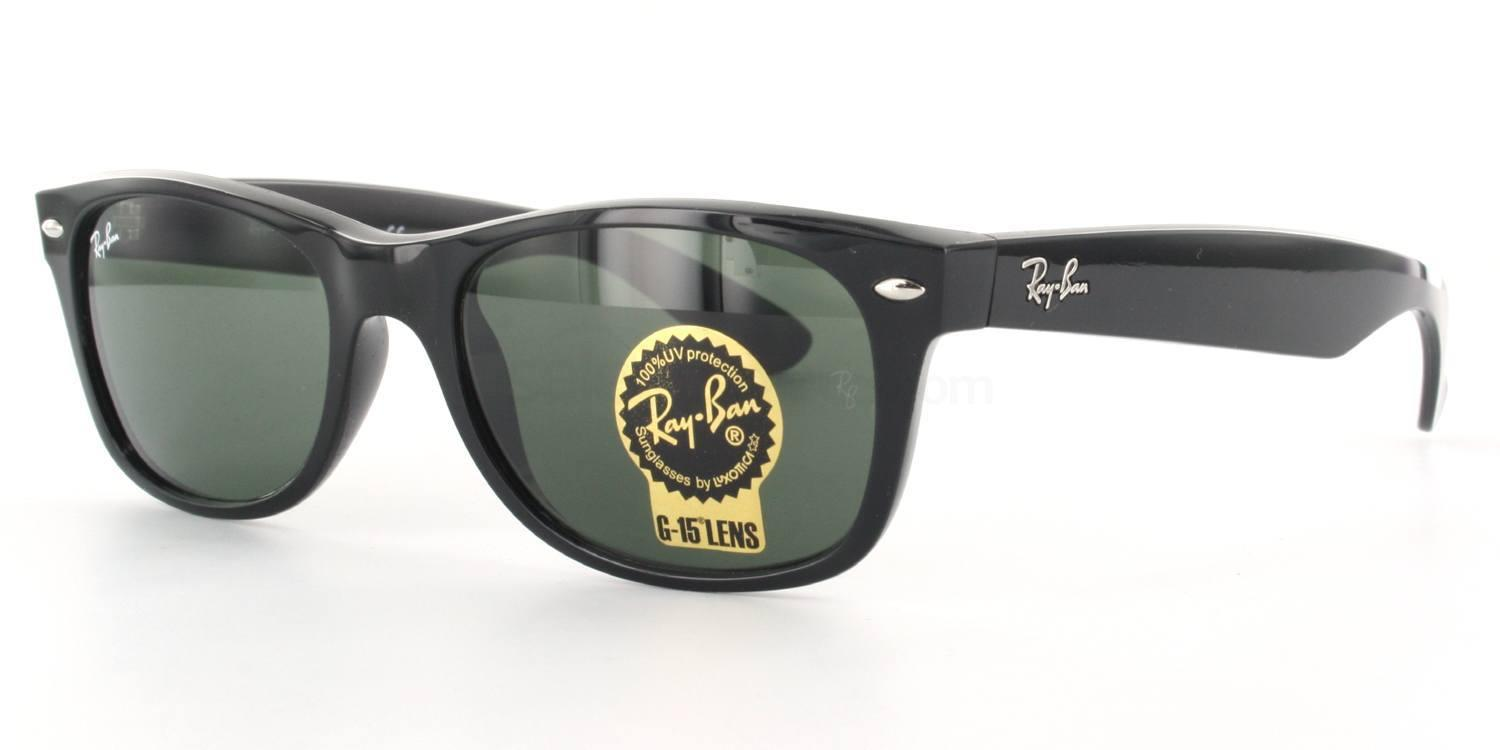 Ray-Ban RB2132 New Wayfarer Sunglasses at SelectSpecs