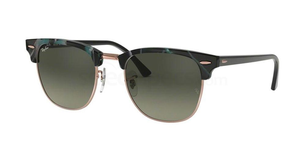 125571 RB3016 - Clubmaster (HRG) (1/3) Sunglasses, Ray-Ban