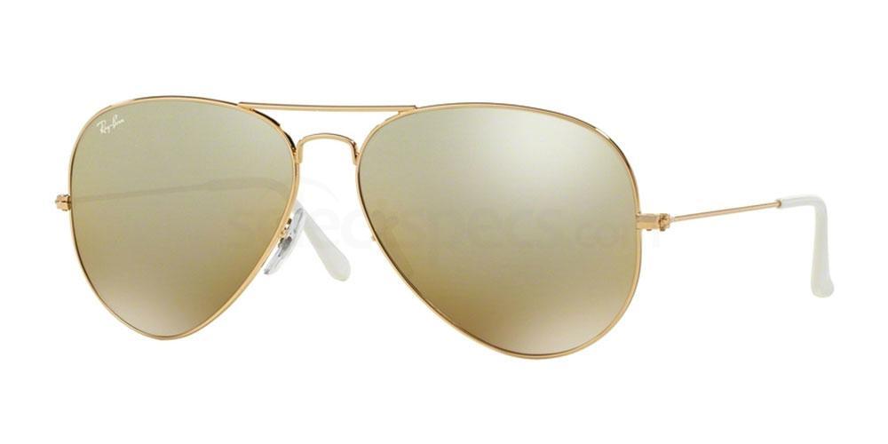001/3K RB3025 Aviator - Large Metal (5/7) Sunglasses, Ray-Ban
