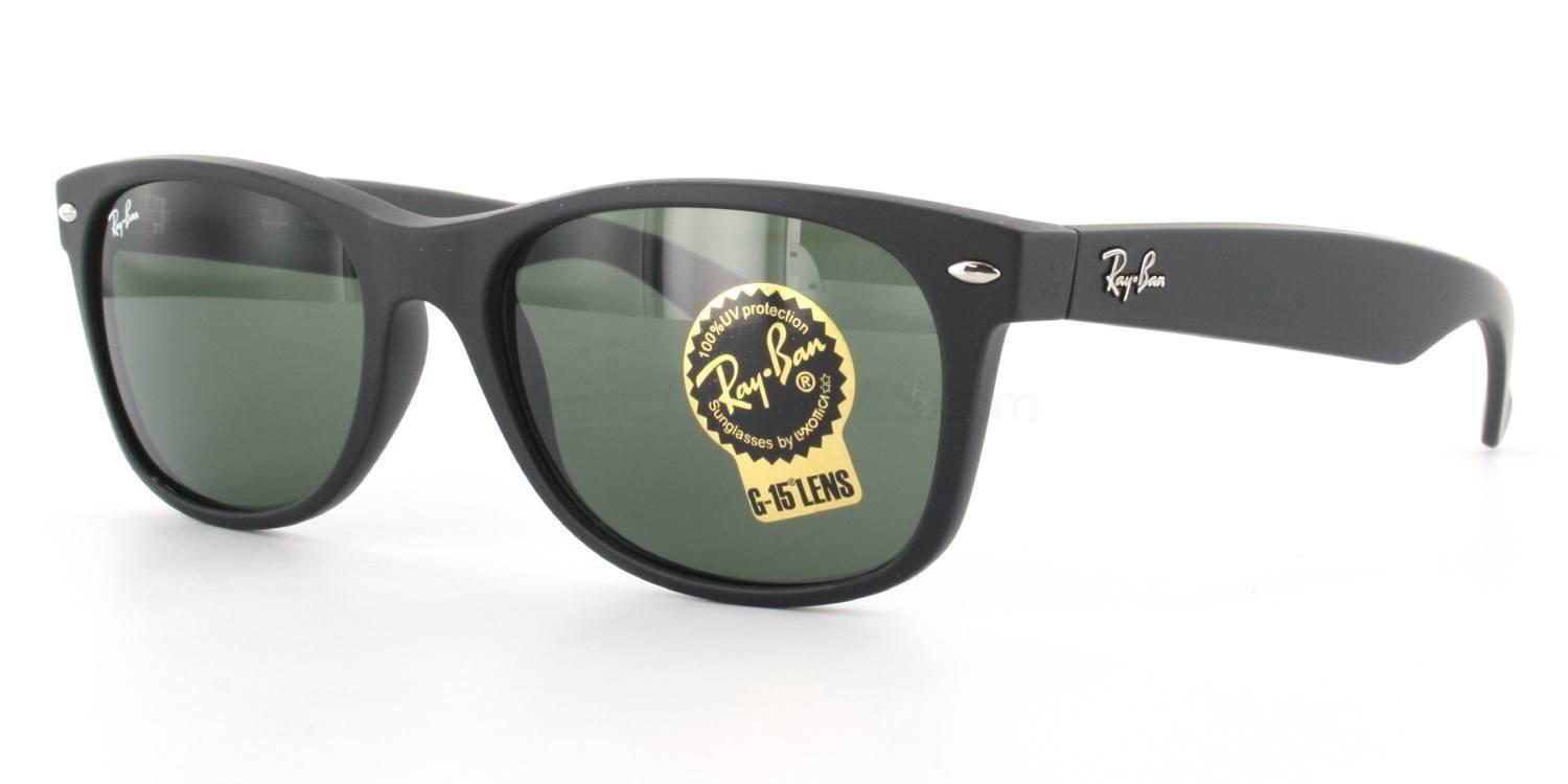 622 RB2132 - New Wayfarer (Rubber) Sunglasses, Ray-Ban