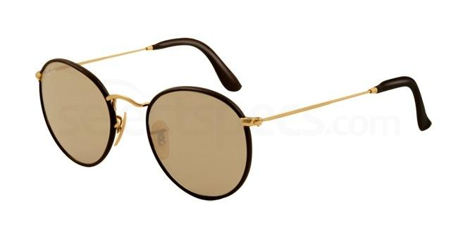 brown ray-ban oval sunglasses