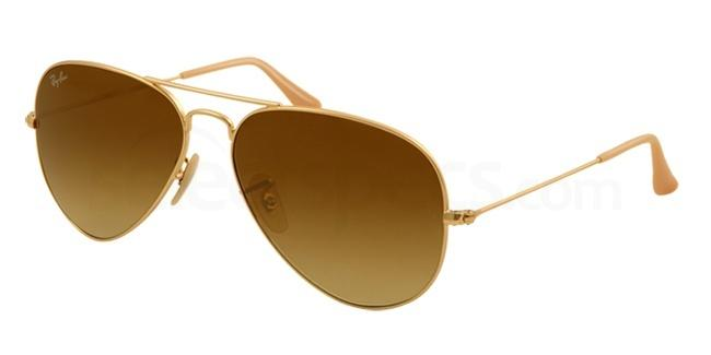 Ray-Ban-Gold-and-Brown-Aviator-at-SelectSpecs
