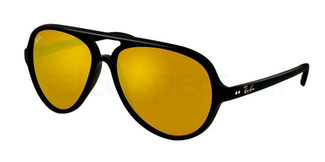 601S93 RB4125 Cats 5000 (4/4) , Ray-Ban