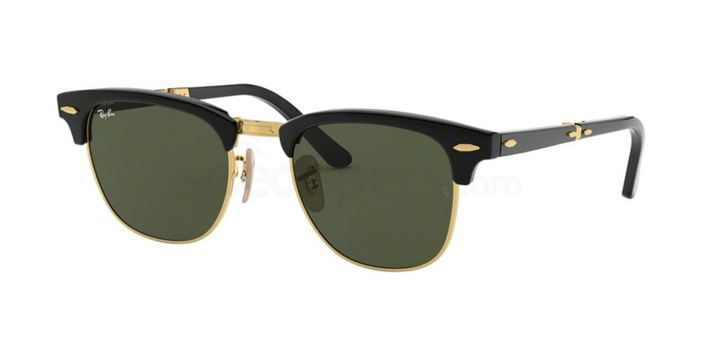 901 RB2176 CLUBMASTER FOLDING Sunglasses, Ray-Ban