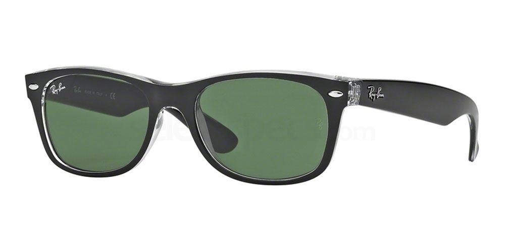 6052 RB2132 - New Wayfarer (On Transparent) , Ray-Ban