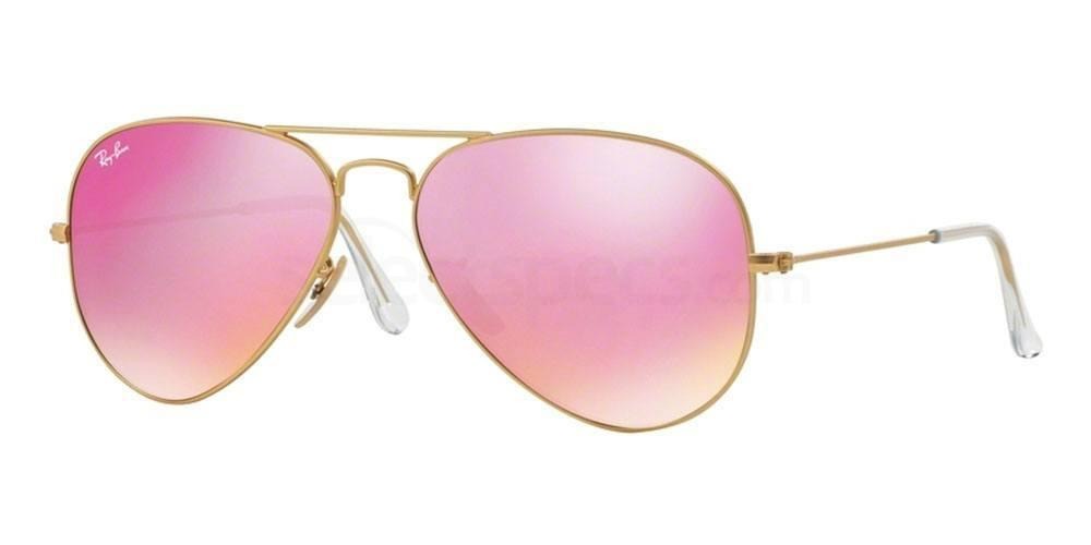 Ray-Ban Aviator sunglasses with Pink Lenses