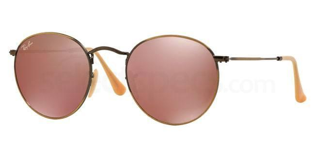 ray ban bronze mirror flash