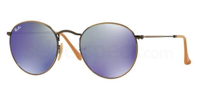 ray-ban-round-metal-rb3447-bronze-and-blue-sunglasses