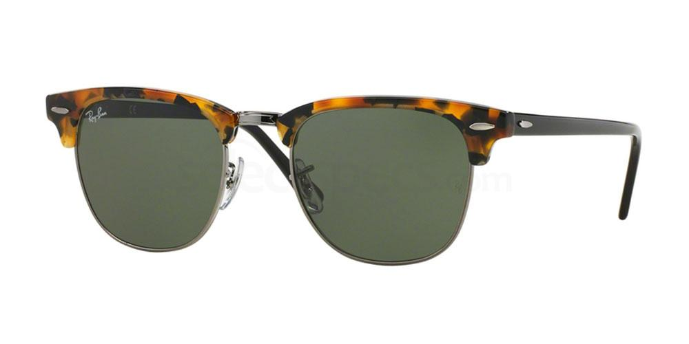 1157 RB3016 - Clubmaster - FLECK Sunglasses, Ray-Ban