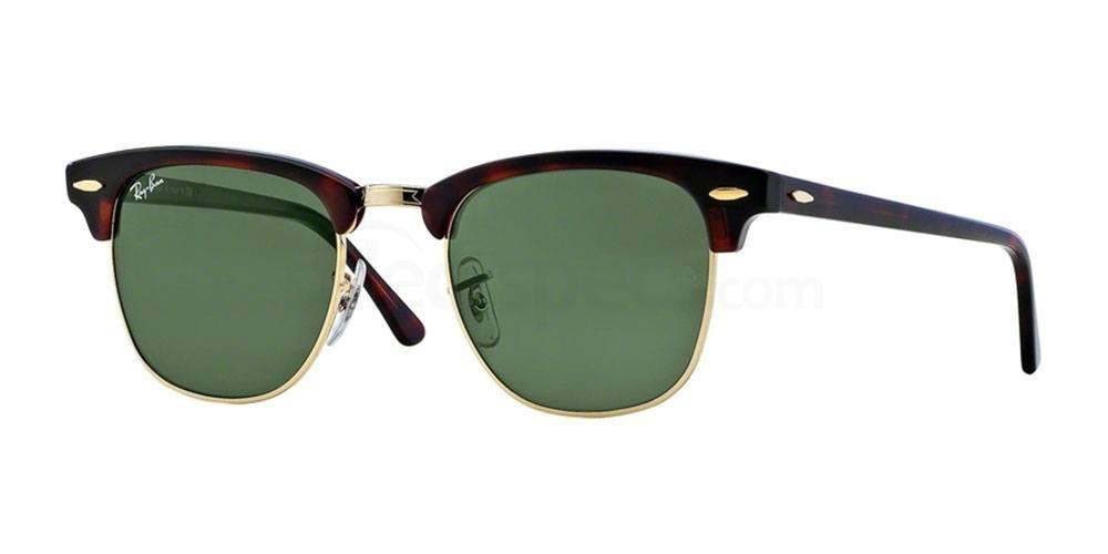 W0366 RB3016 - Clubmaster - FLECK , Ray-Ban
