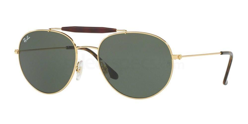 001 RB3540 Sunglasses, Ray-Ban
